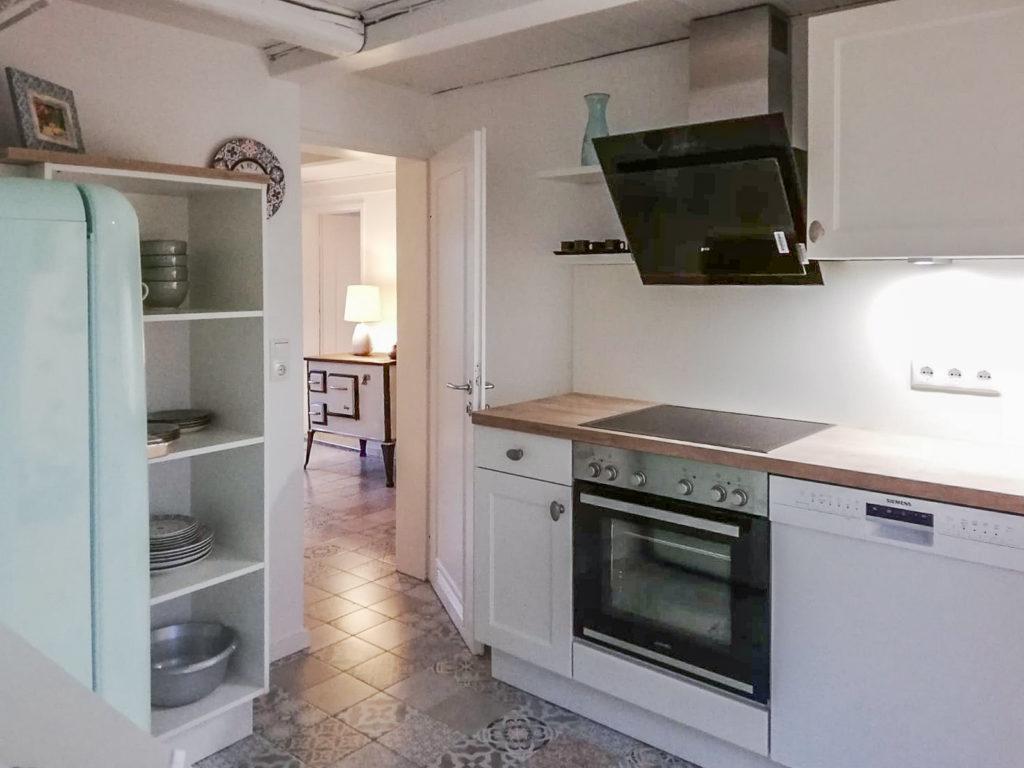 Küche / Kochzeile Appartement 1