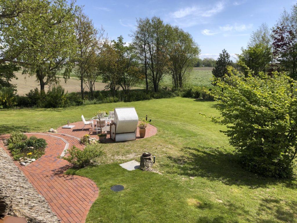 Garten aus der Luft